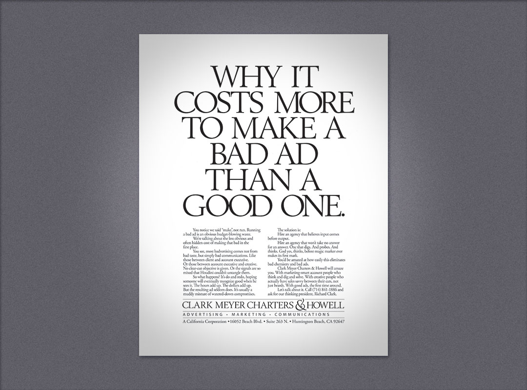 CMC&H ad
